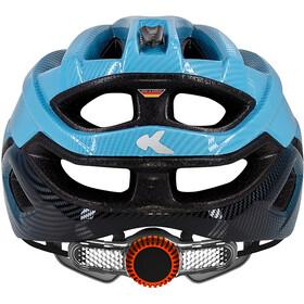 KED Champion Visor - Casque de vélo - bleu/noir